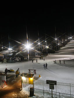 Mount Southington Ski Area Webcam, Snow Report