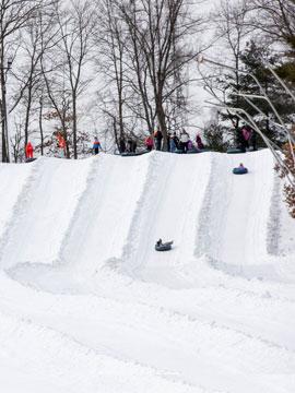 Nashoba Valley Ski Tubing Cam Webcam, Snow Reports, Trail Maps