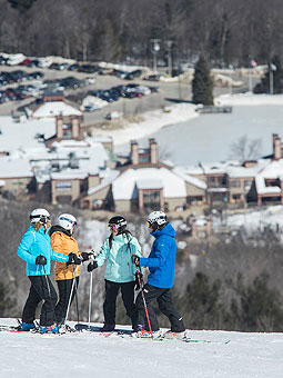 Wachusett Mountain Webcam, Snow Reports, Trail Maps