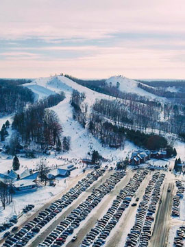 Caberfae Peaks Ski & Golf Resort Webcam, Snow Reports, Trail Maps