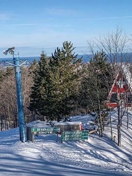 Marquette Mountain Ski Area Live Webcam, Snow Reports, Trail Maps