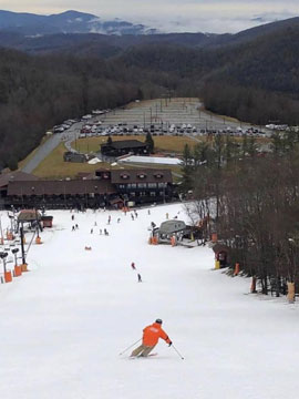 Appalachian Ski Mountain Live Webcam, Snow Reports, Trail Maps