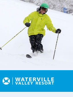 Waterville Valley Resort Live Webcam, Snow Reports, Trail Maps