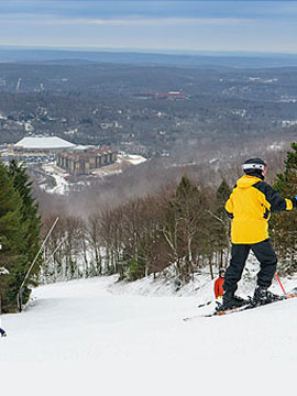 Camelback Mountain Resort Webcam, Snow Reports, Trail Maps