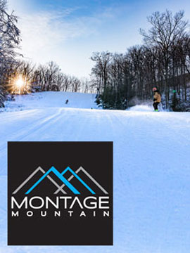 Montage Mountain Ski Resort Webcam, Snow Reports, Trail Maps