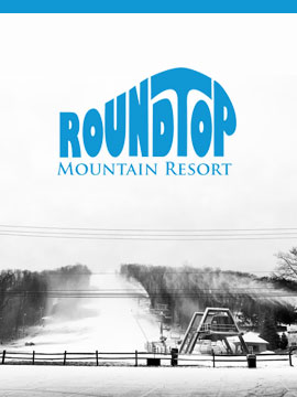 Ski Roundtop Mountain Resort Webcam, Snow Reports, Trail Maps