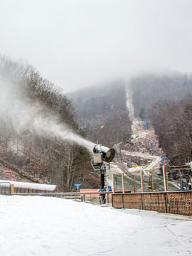 Ober Gatlinburg Ski Area Live Webcam, Snow Reports, Trail Maps