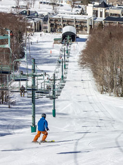 Bolton Valley Resort Live Webcam, Snow Reports, Trail Maps