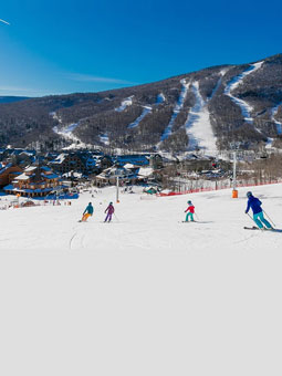 Stowe Mountain Resort Live Webcam, Snow Reports, Trail Maps