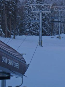 Arizona Snowbowl Grand Canyon Express Lift Live Ski Cam