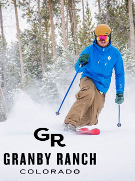 Ski Granby Ranch Live Webcam, Snow Reports, Trail Maps