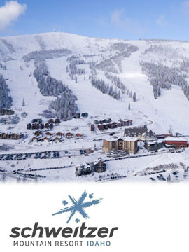 Schweitzer Mountain Resort Live Webcam, Snow Reports, Trail Maps