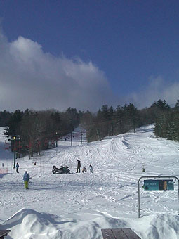 Blandford Ski Area Live Webcam, Snow Reports, Trail Maps