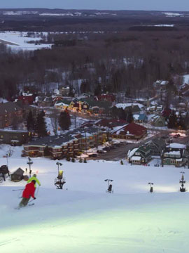 Crystal Mountain Ski, Golf & Spa Resort Live Webcam, Snow Reports, Trail Maps
