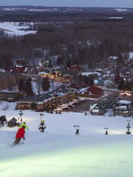 Crystal Mountain Ski, Golf & Spa Resort Live Webcam, Snow Reports, Trail Maps