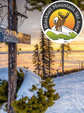 Blacktail Mountain Ski Live Webcam, Snow Reports, Trail Maps