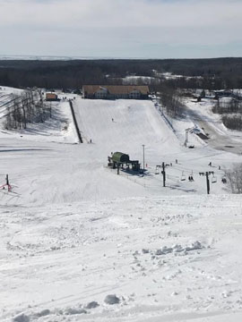 Bottineau Winter Park Live Webcam, Snow Reports, Trail Maps