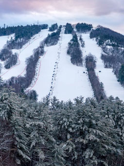 Cranmore Mountain Resort Live Webcam, Snow Reports, Trail Maps