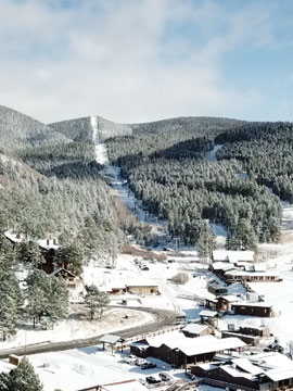 Angel Fire Resort Live Webcam, Snow Reports, Trail Maps