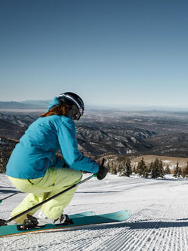 Ski Santa Fe Live Webcam, Snow Reports, Trail Maps