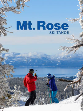 Mt. Rose Ski Tahoe Live Webcam, Snow Reports, Trail Maps