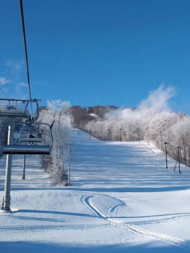 Greek Peak Mountain Resort Live Webcam, Snow Reports, Trail Maps