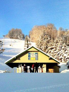 Kissing Bridge Ski & Snowboard Slopes Live Webcam, Snow Reports, Trail Maps