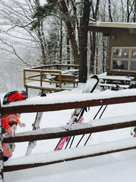 Big Creek Ski Area Live Webcam, Snow Reports, Trail Maps