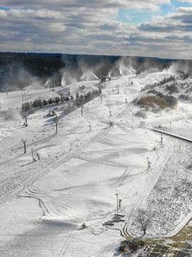 Boston Mills and Brandywine Ski Areas Live Webcam, Snow Reports, Trail Maps