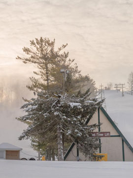 Mad River Mountain Live Webcam, Snow Reports, Trail Maps