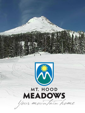 Mount Hood Meadows Live Webcam, Snow Reports, Trail Maps