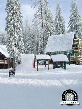 Spout Springs Ski Area Live Webcam, Snow Reports, Trail Maps