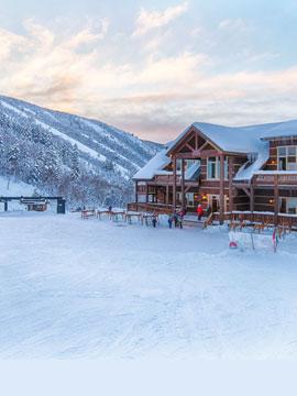 Cherry Peak Ski Resort Live Webcam, Snow Reports, Trail Maps