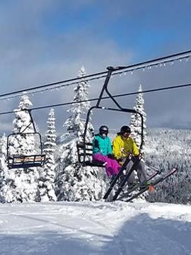 Ski Bluewood Live Webcam, Snow Reports, Trail Maps