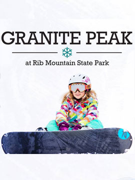 Granite Peak at Rib Mountain State Park Live Webcam, Snow Reports, Trail Maps