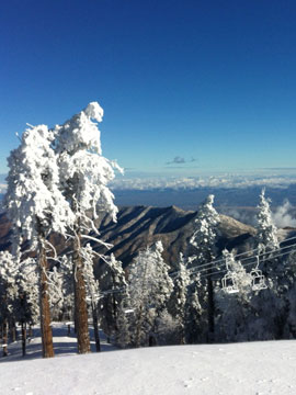 Mount Lemmon Ski Valley Live Webcam, Snow Reports, Trail Maps