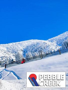 Pebble Creek Ski Area - Lodge Live Webcam, Snow Reports, Trail Maps