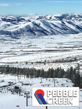 Pebble Creek Ski Area - Valley Live Webcam, Snow Reports, Trail Maps
