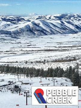 Pebble Creek Ski Area - Valley Live Webcam, Snow Reports, Trail Maps