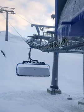 Big Sky Resort Ramcharger 8 Lift Live Webcam, Snow Reports, Trail Maps