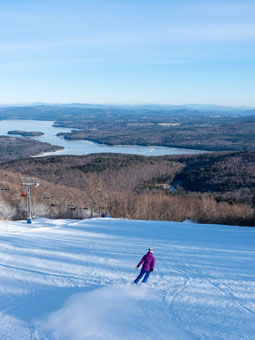 Mount Sunapee Ski Resort Live Webcam, Snow Reports, Trail Maps
