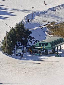 Seven Springs Mountain Polar Bear Express Cam