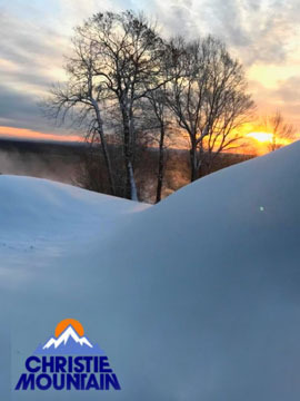 Christie Mountain Wisconsin Live Webcam, Snow Reports, Trail Maps