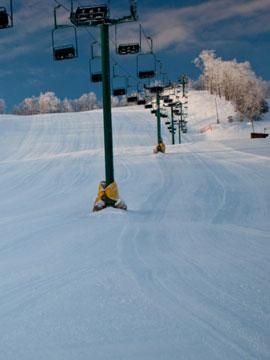 Mt. Ashwabay Ski Area Webcam