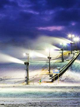 Sunburst Ski Area Wisconsin - Edelweiss Cam