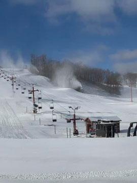 Sunburst Ski Area Wisconsin - Race HillCam