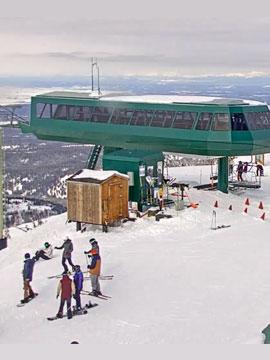 Grand Targhee Resort Summit Cam, Wyoming